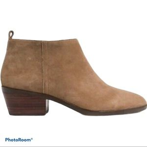 J. CREW Sawer Suede Boots/Booties Camel Size 8